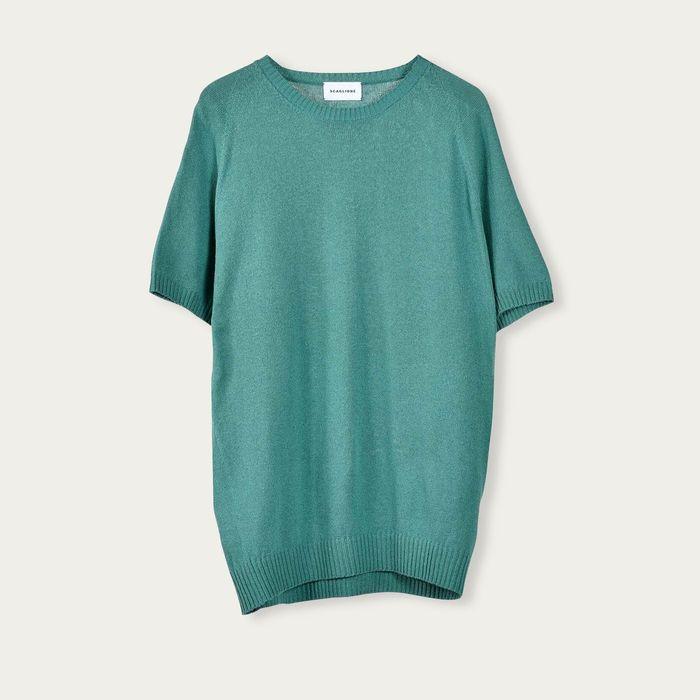 Green Raglan Silk T-Shirt   Bombinate