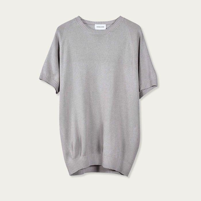 Marble Raglan Silk T-Shirt | Bombinate