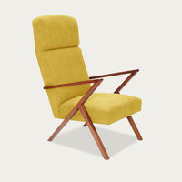 Yellow Retrostar Lounge Chair Classic Line | Bombinate