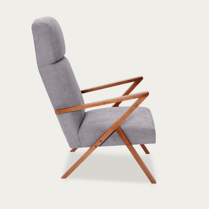 Grey Retrostar Lounge Chair Classic Line | Bombinate
