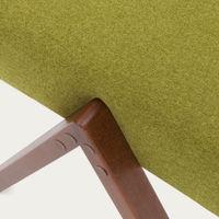 Mustard-Green Retrostar Footstool Classic Line | Bombinate