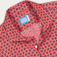 Red Boracay Linen Shirt | Bombinate