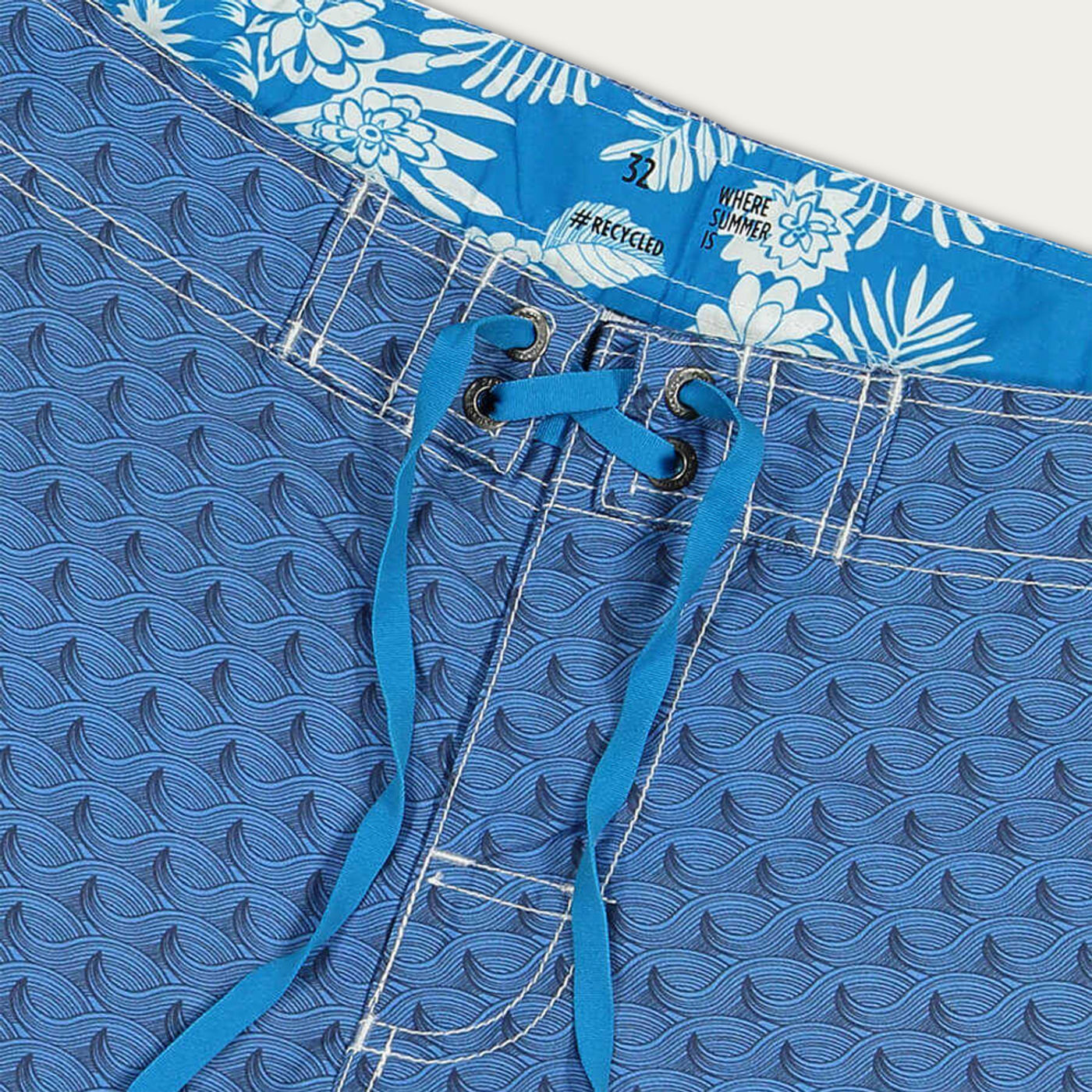 Blue Matira Boardshorts | Bombinate