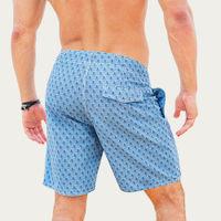 Blue Opunohu Beach Shorts | Bombinate