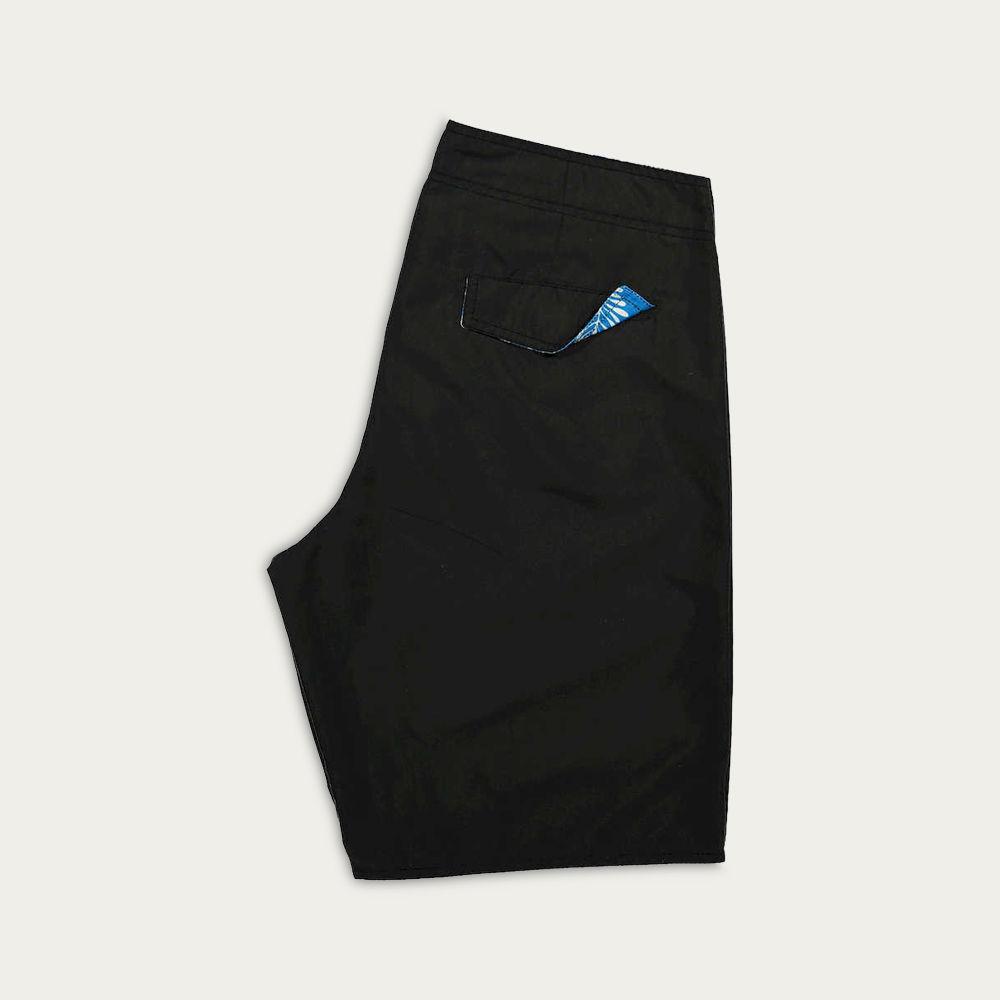 Black Kuta Boardshorts | Bombinate