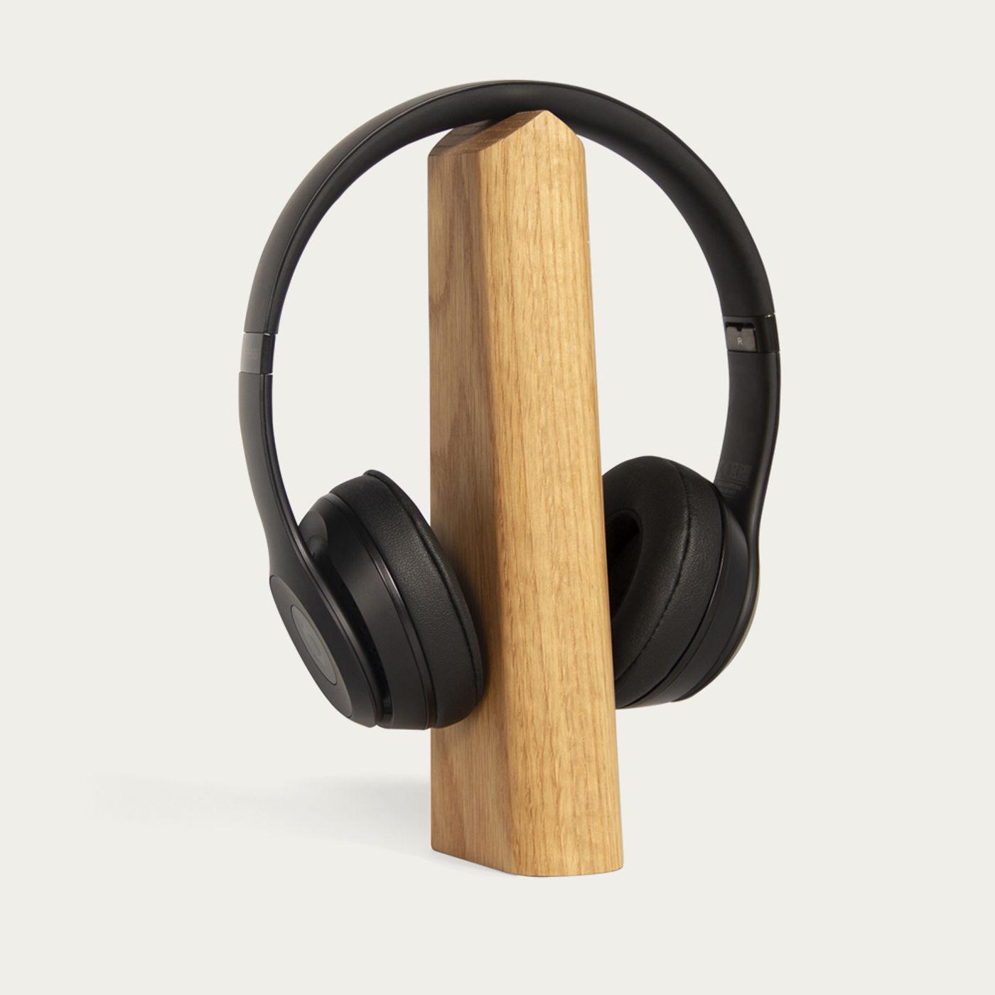 Oak Headphones and Laptop Stand - Set of 2   Bombinate
