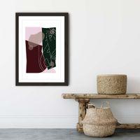 Black Frame Modern Art I Art Print   Bombinate