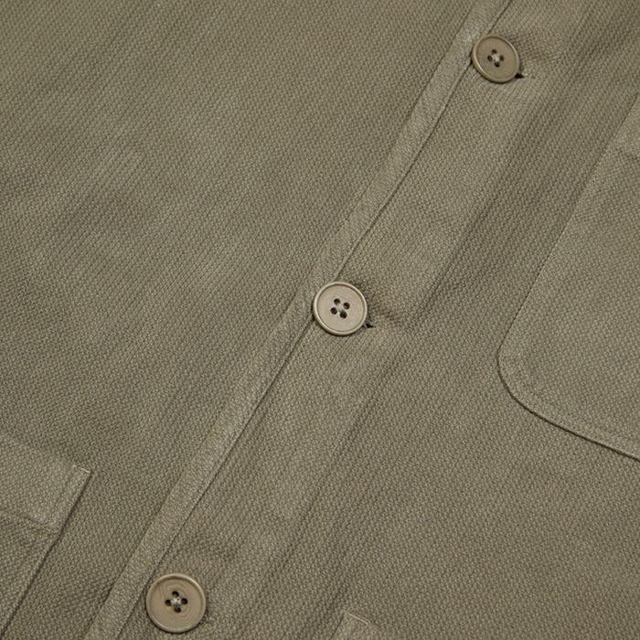 Chet Jacket Moss Stone | Bombinate