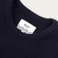 Cotswold Knitted Jumper Navy | Bombinate