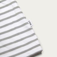 Duval Long Sleeve T-Shirt White/Glacial Green | Bombinate
