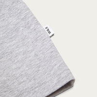 Grey Melange Reid Badge T-Shirt | Bombinate