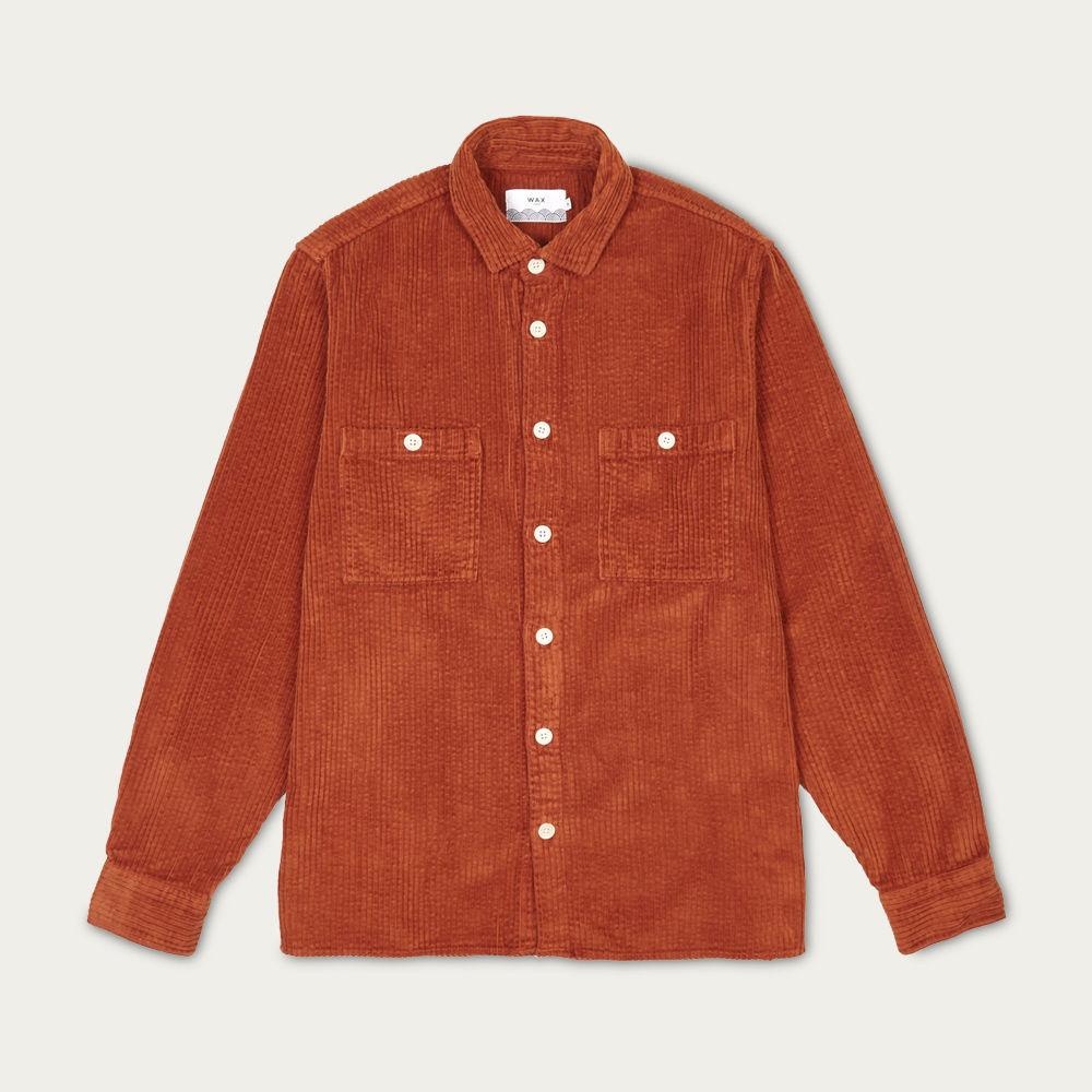 Whiting Shirt Orange Cord   Bombinate