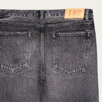 Black Fade Slim Fit Selvedge Denim Jeans | Bombinate