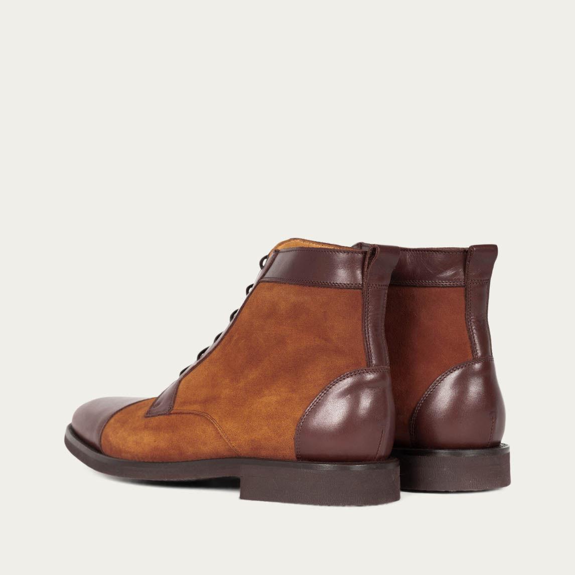 Camel Cambridge Boots | Bombinate