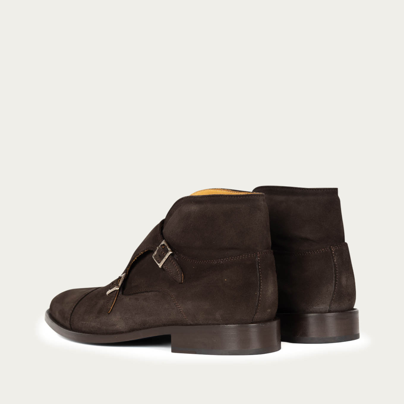 Chocolate Suede Milan Boots | Bombinate