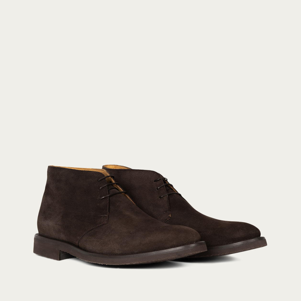 Brown Suede Praga Boots | Bombinate