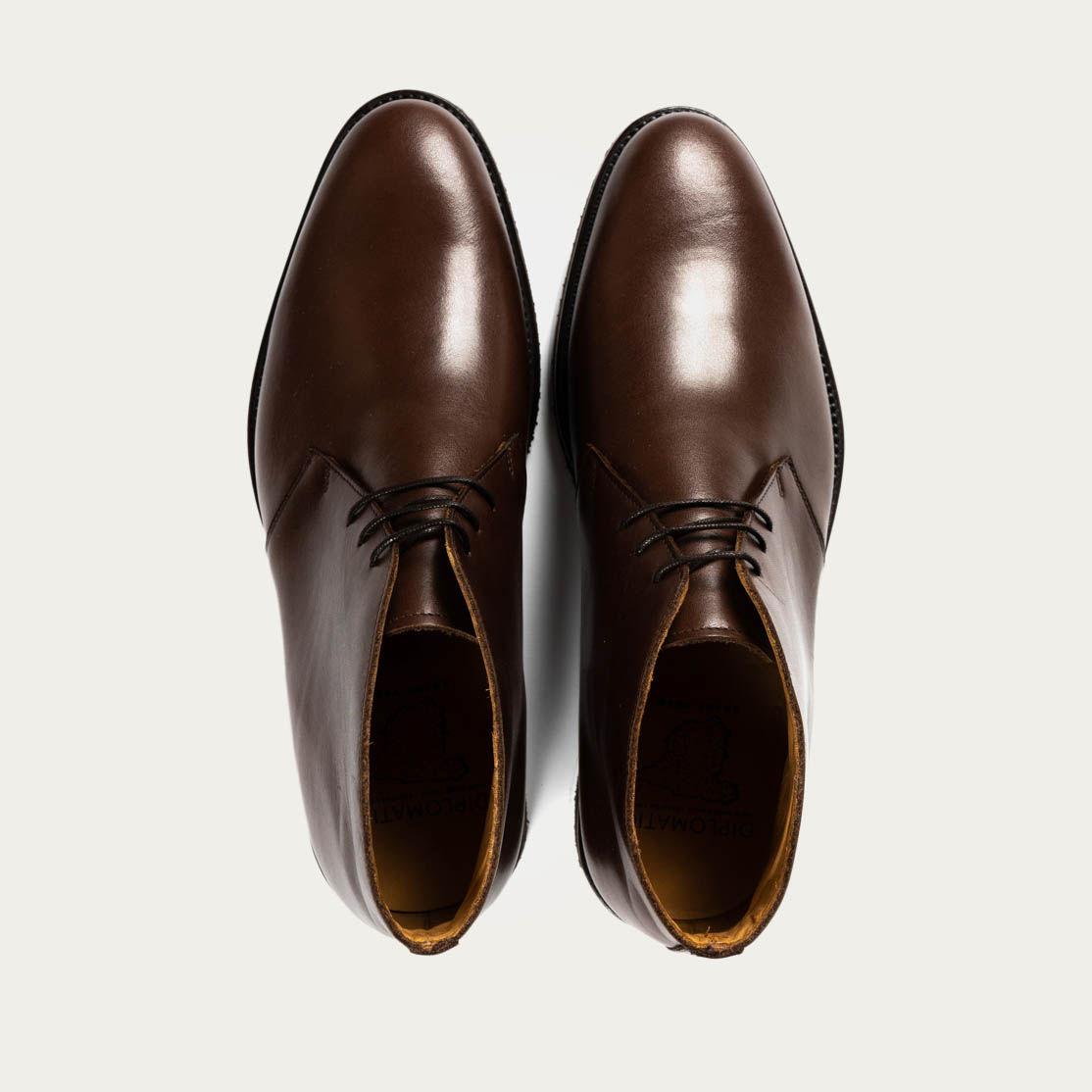 Light Brown Praga Boots | Bombinate