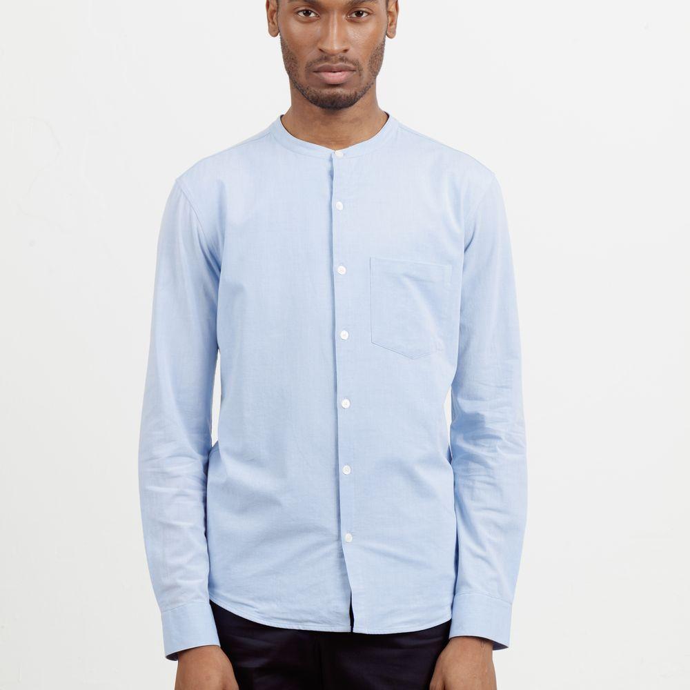 Light Blue All Day Shirt  | Bombinate