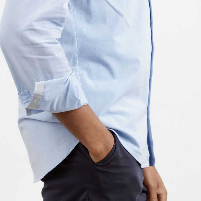 Light Blue All Day Shirt    Bombinate