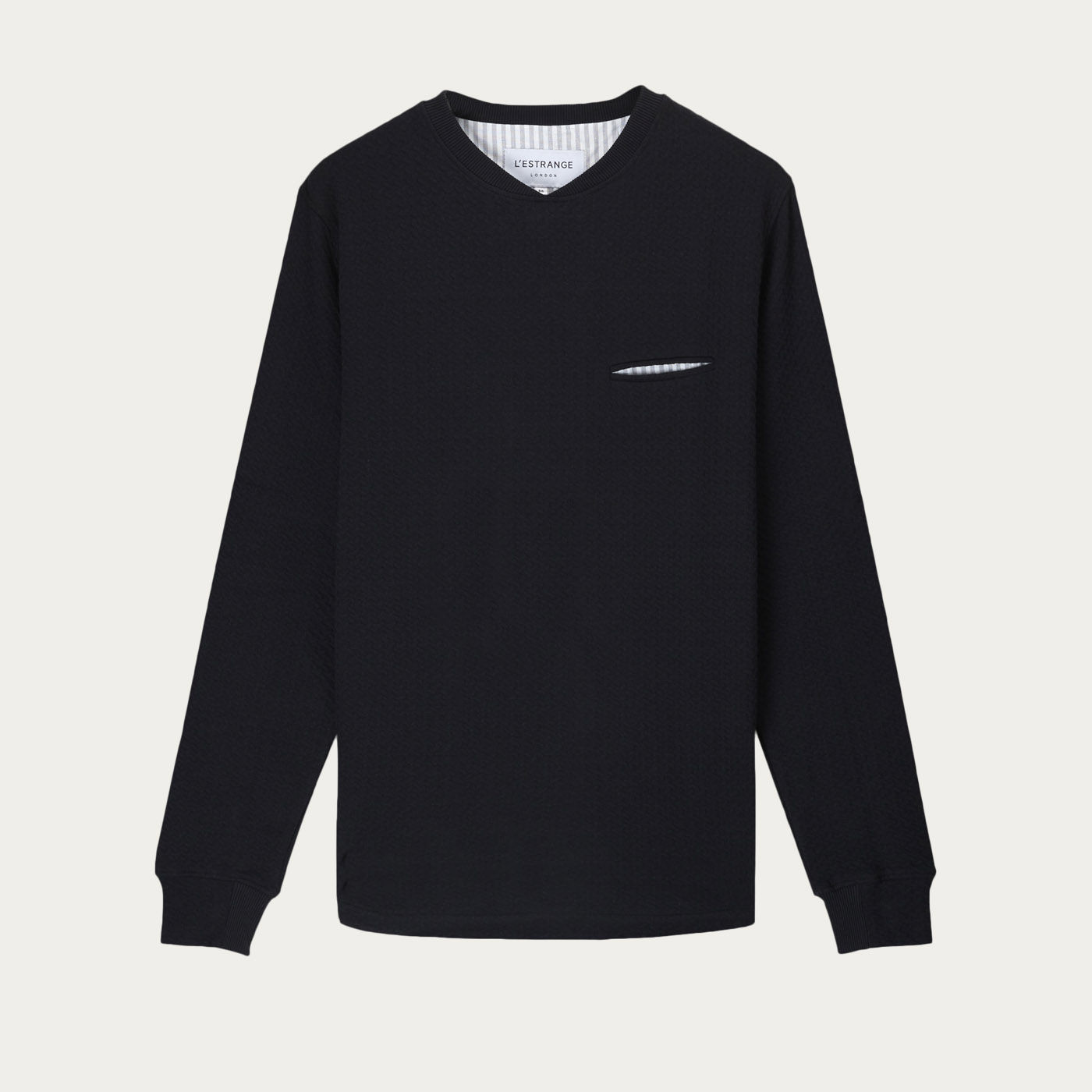 The Black Curve Sweatshirt  0
