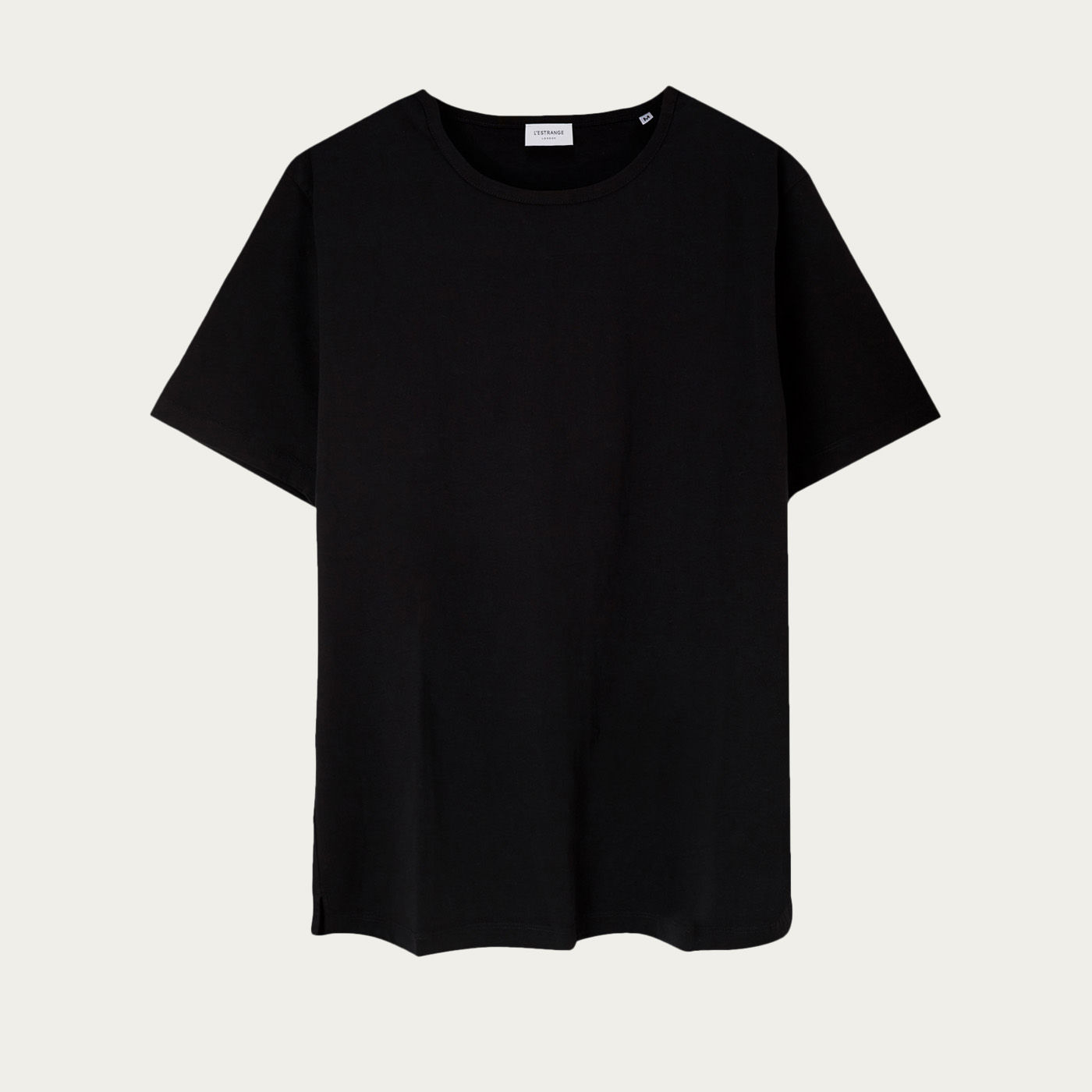 Black Tailored Tee  | Bombinate