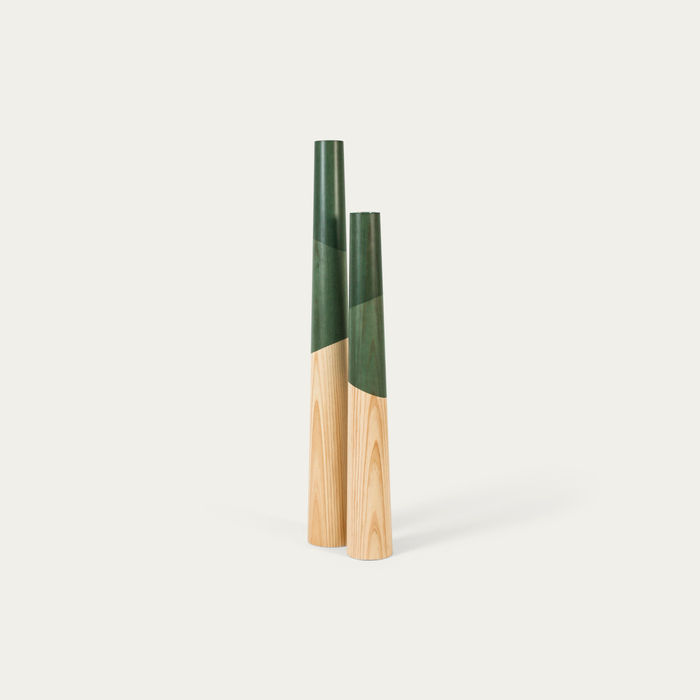 Green Giant Floor candle Holder  | Bombinate