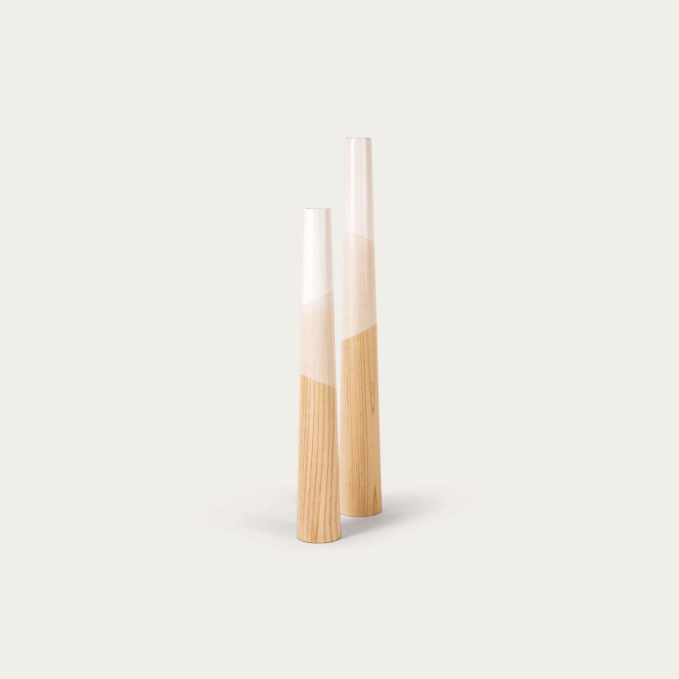 White Giant Floor candle Holder  | Bombinate