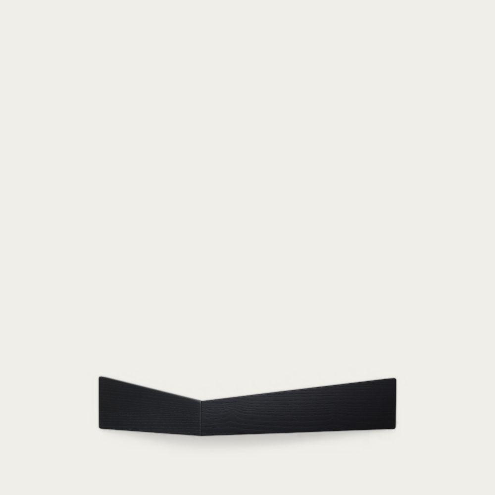 Black Large Pelican Shelf with Hidden Hooks | Bombinate