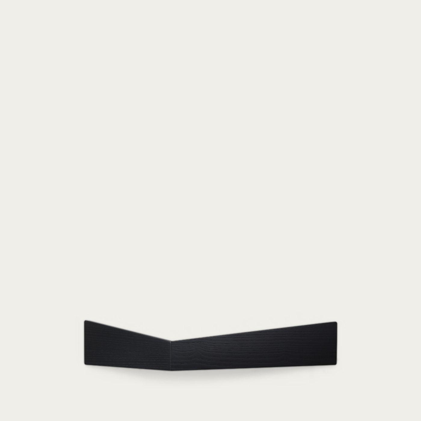Black Large Pelican Shelf with Hidden Hooks   Bombinate