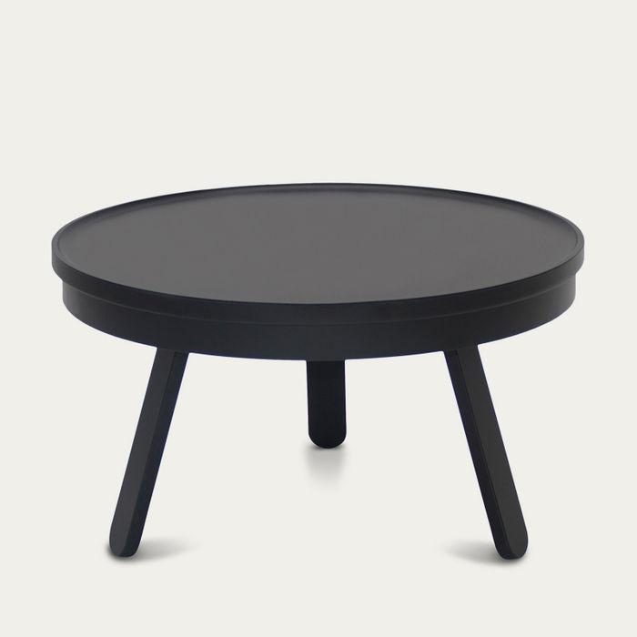 Black Medium Batea Coffee Table  | Bombinate