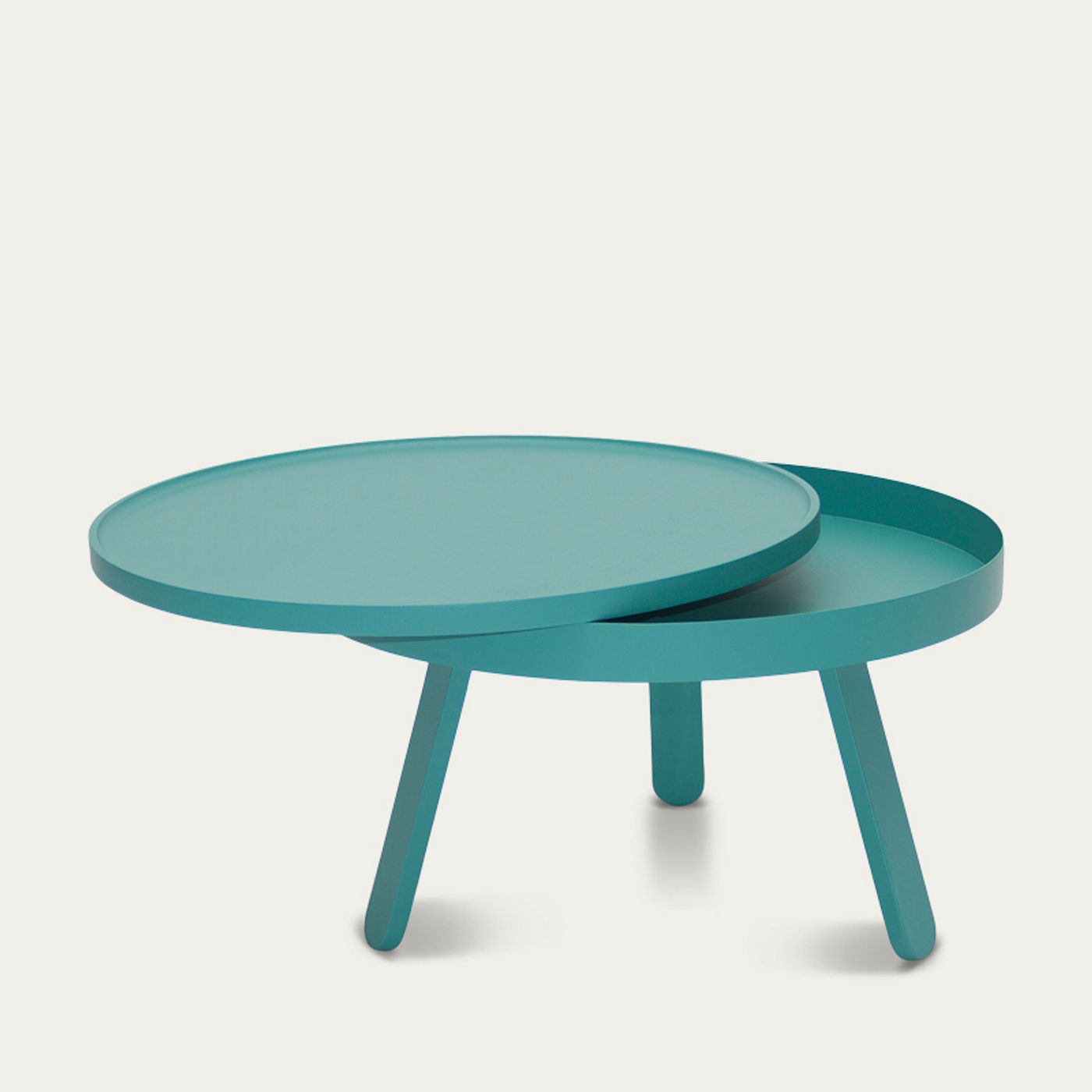 Green Medium Batea Coffee Table  | Bombinate