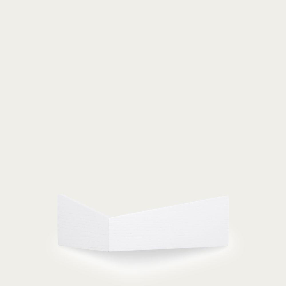 White Small Pelican Shelf with Hidden Hooks  | Bombinate