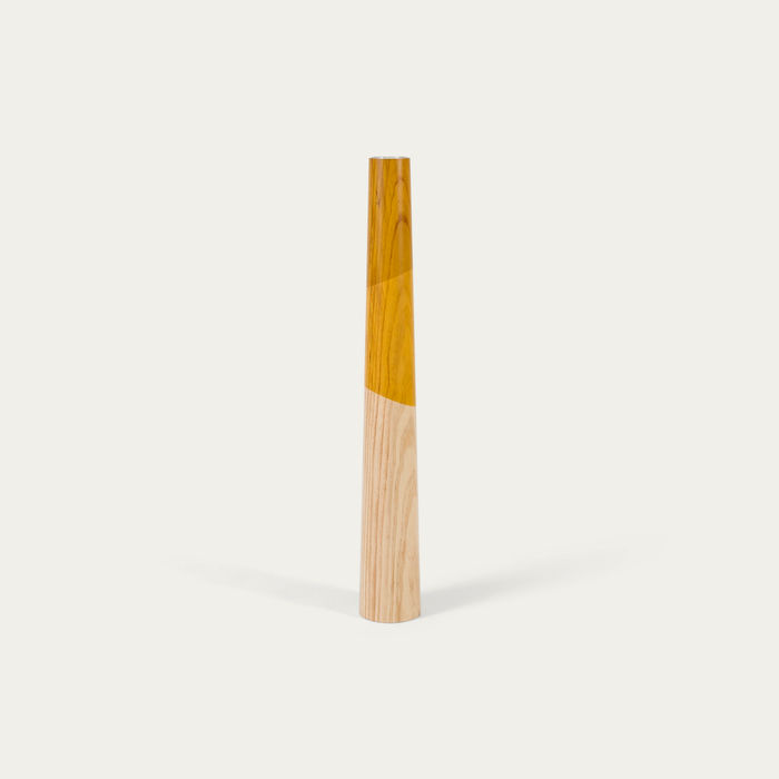 Yellow Giant Floor Candle Holder  | Bombinate