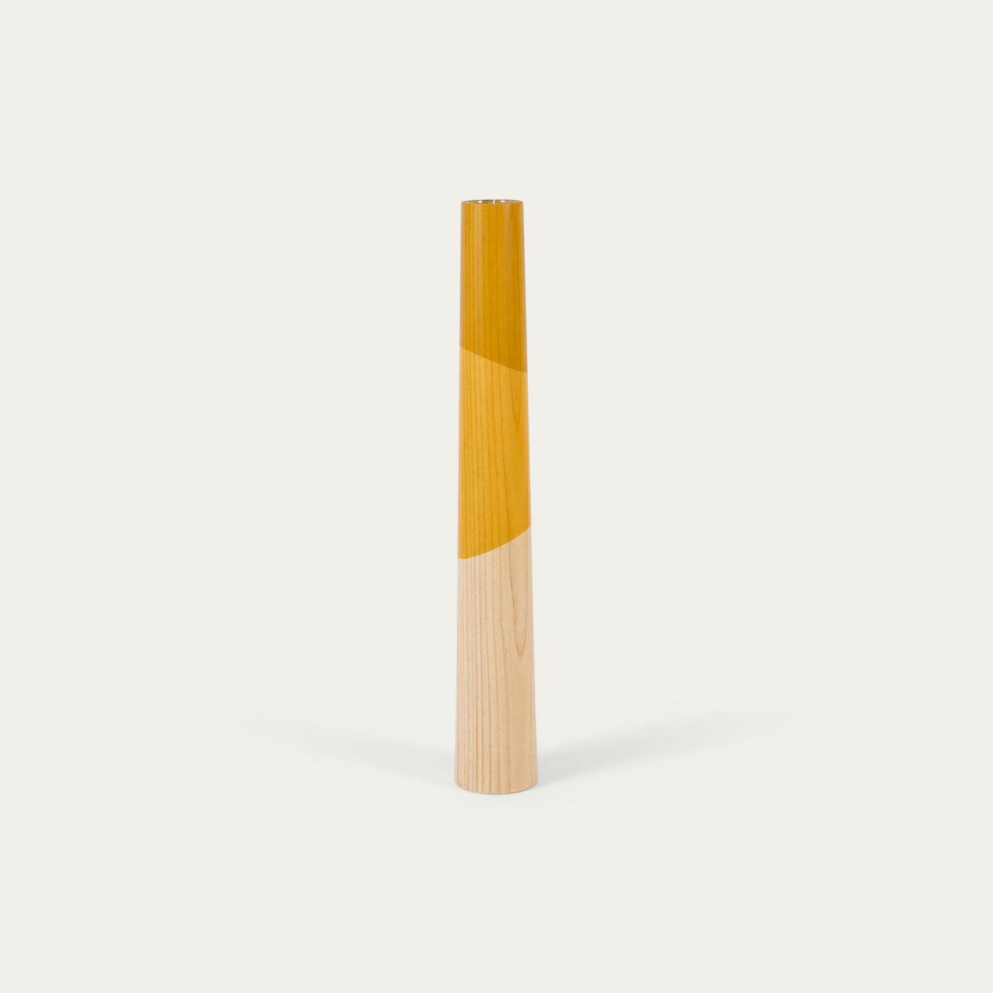 Yellow Giant Floor Candle Holder    Bombinate