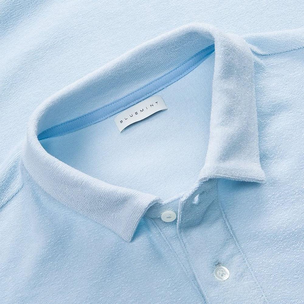 Sky Blue Yam Polo Shirt | Bombinate