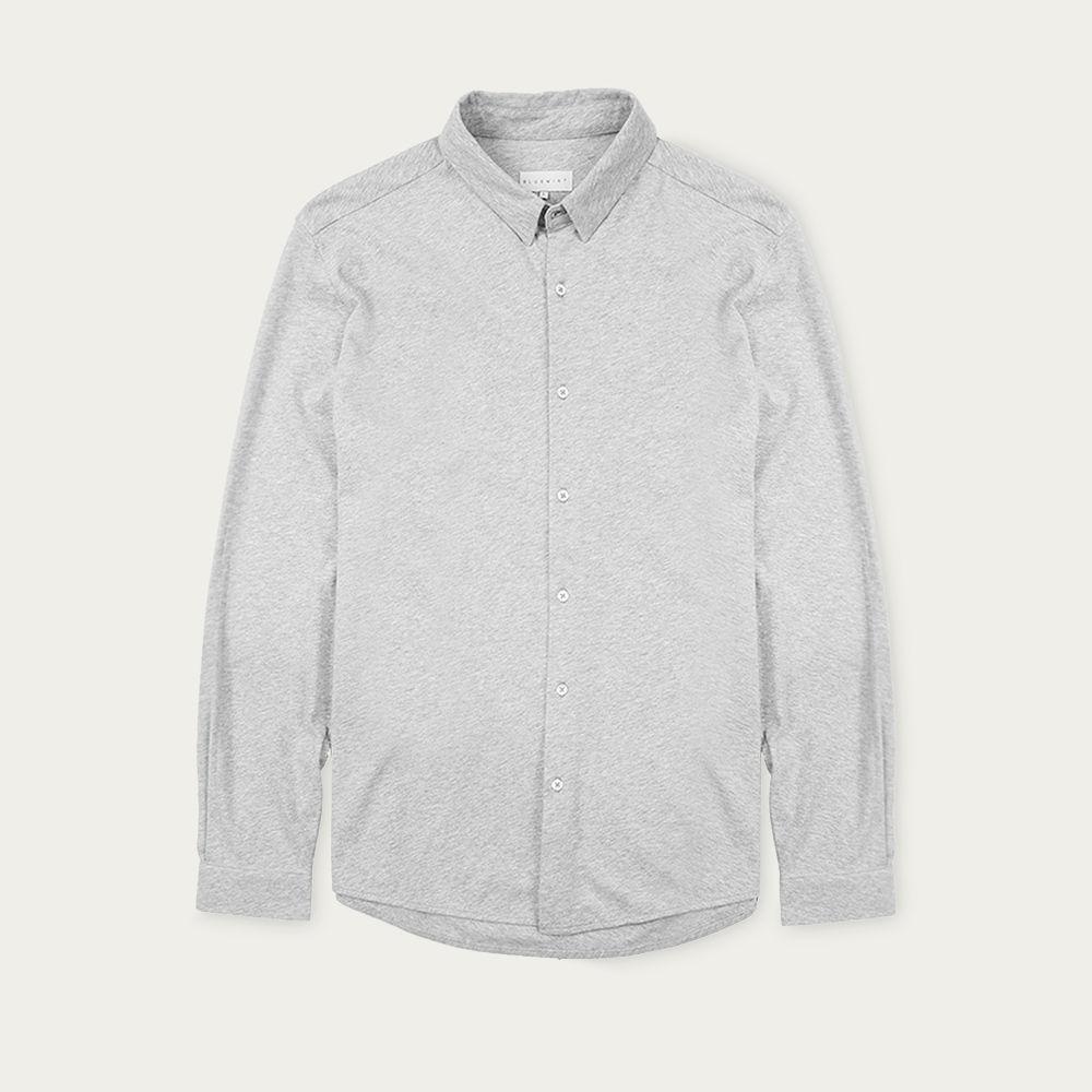 Grey Melange Ryan Shirt | Bombinate
