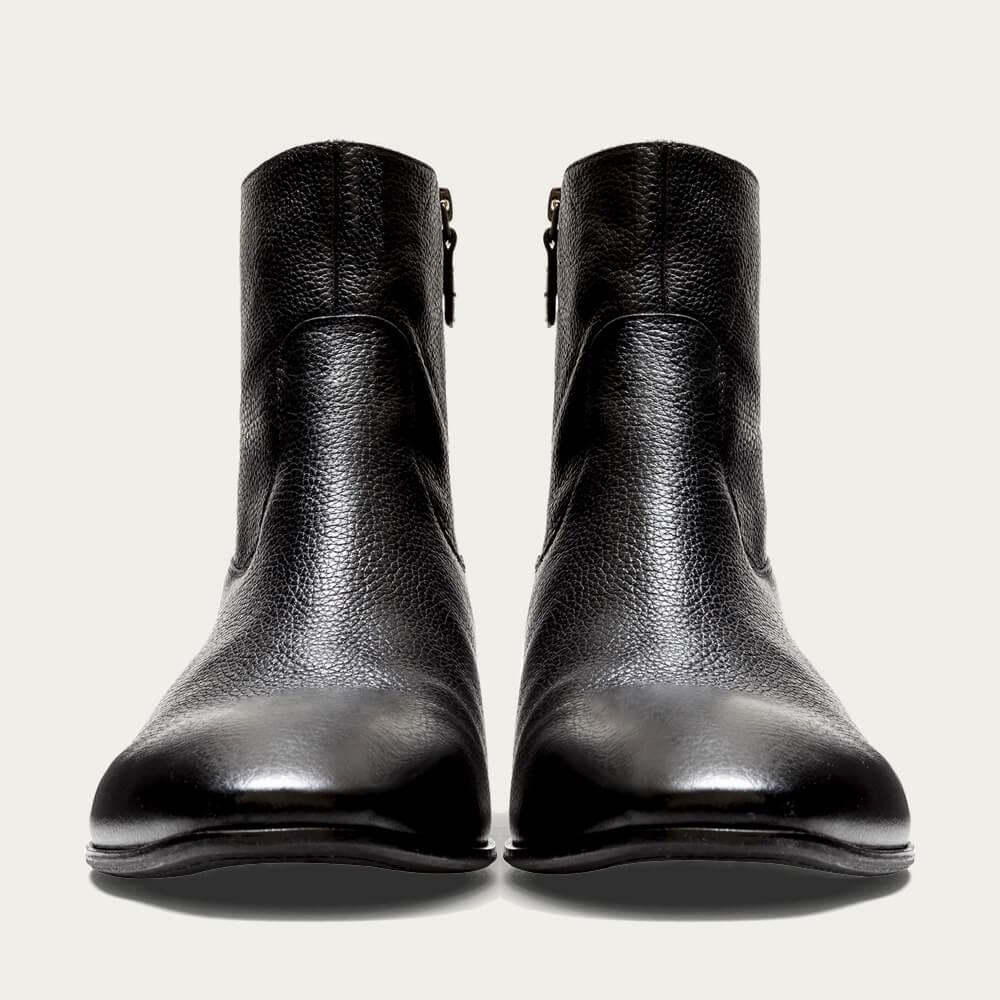 Black Grain Leather Miles  | Bombinate