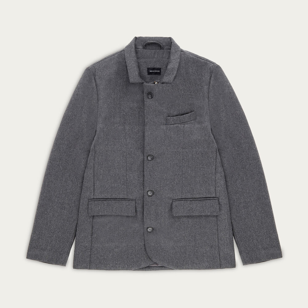 Grey Hiroo Jacket | Bombinate