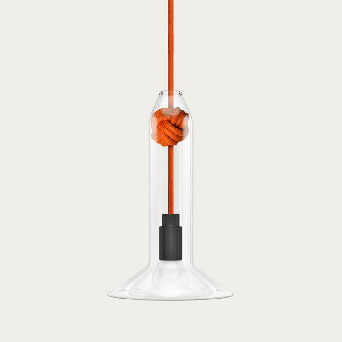 Orange Small Knot Lamp | Bombinate