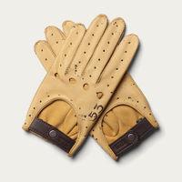 Café Leather X Manu Campa Driving Gloves Triton  | Bombinate