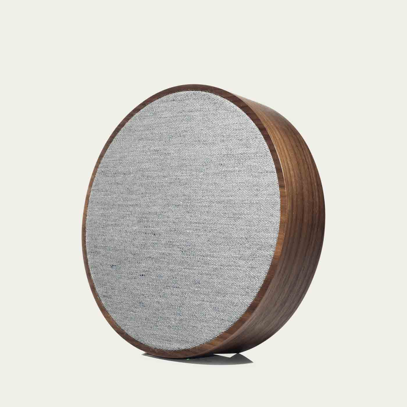 Walnut / Grey ORB Speakers | Bombinate