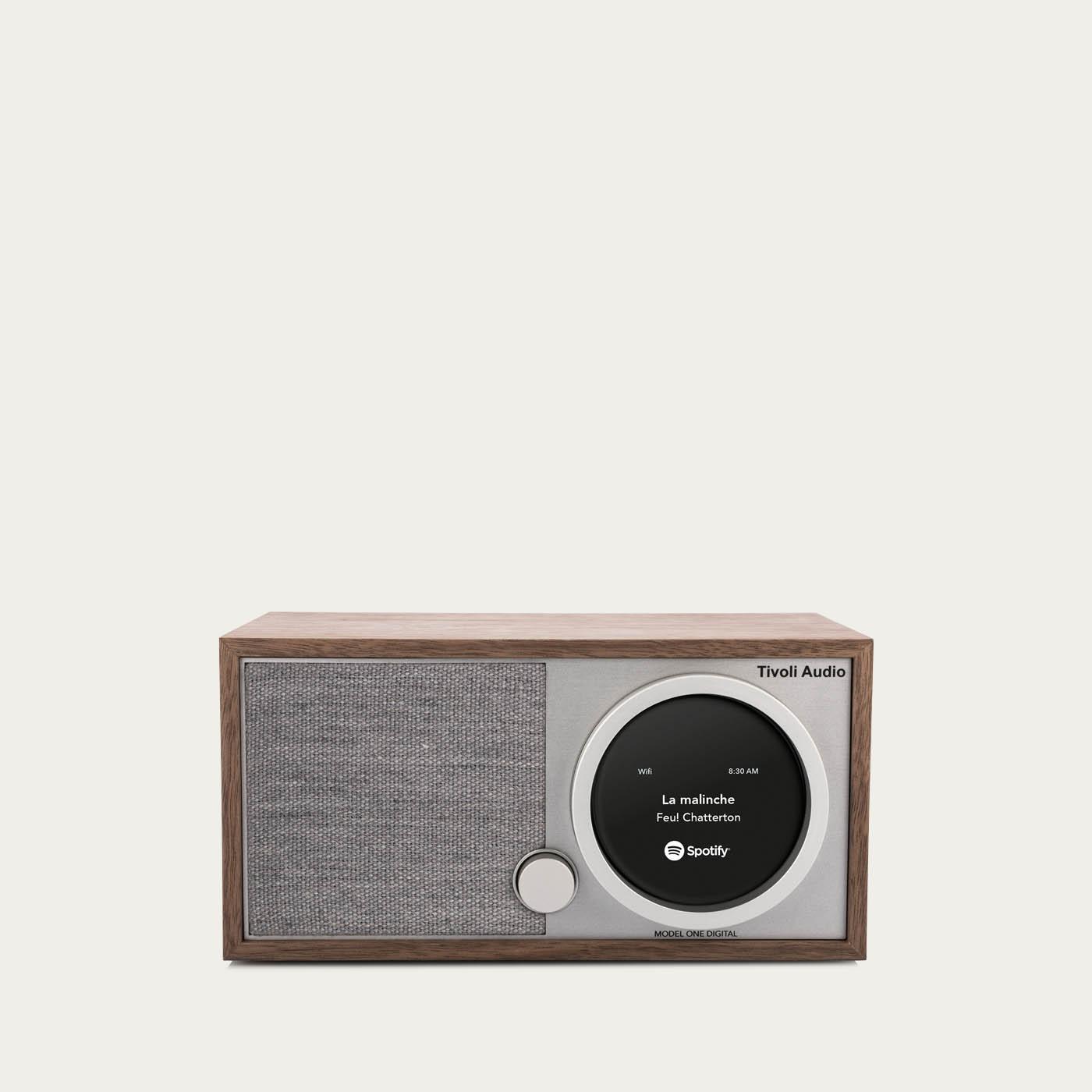 Walnut / Grey One Digital Model Speakers | Bombinate