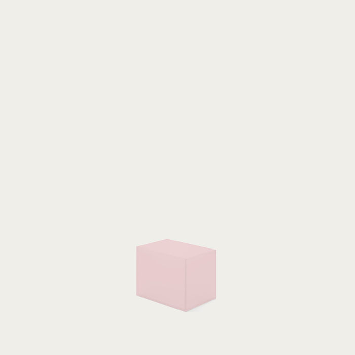 Millennial Pink The Small Acrylate Container | Bombinate