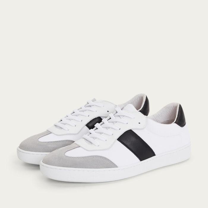 White Colima Sneakers  | Bombinate
