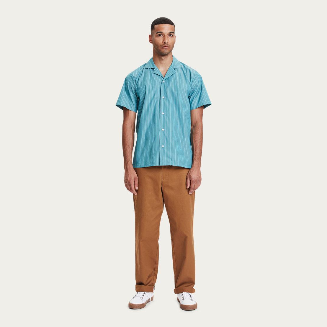 Turquoise Clark Shirt  | Bombinate