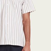 Sand Striped Clark Shirt  | Bombinate