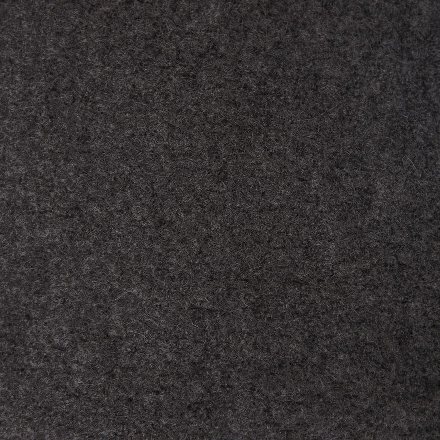 Charcoal Grey Men's Cashfelt knitted Scarf   2