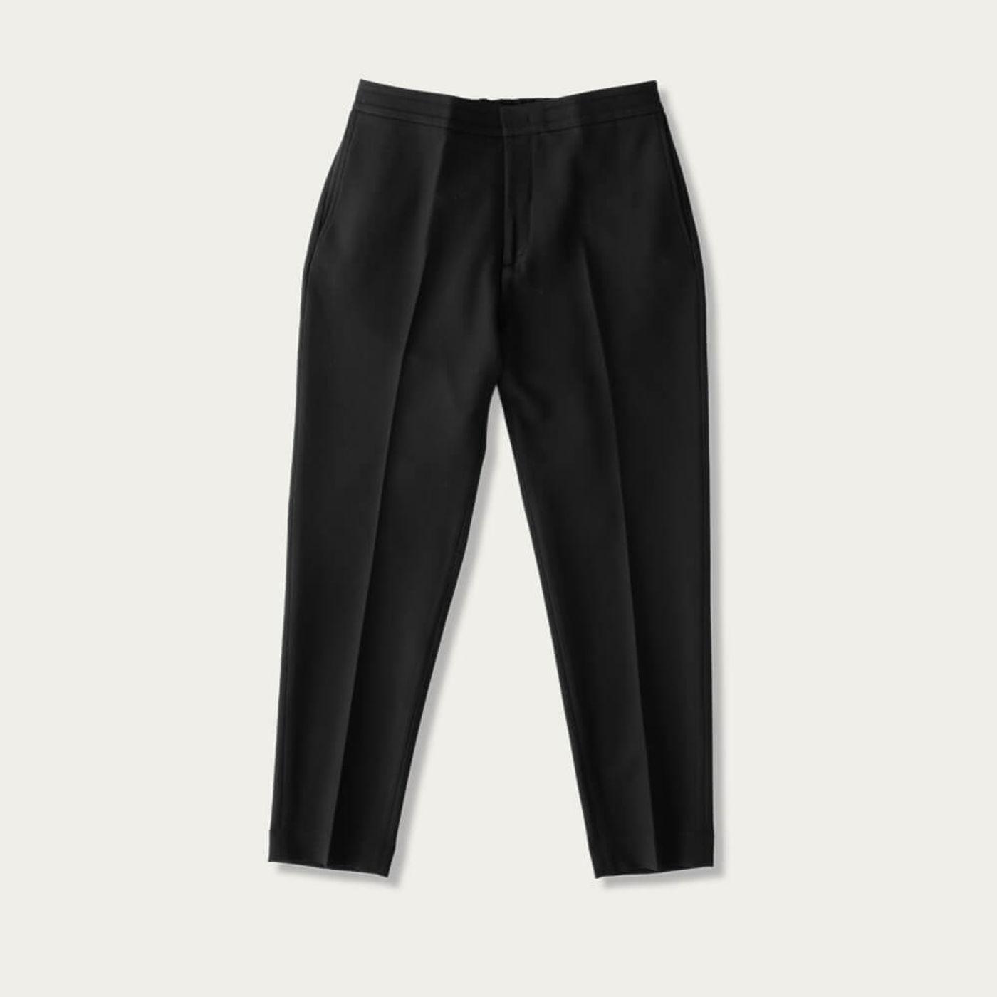 Black/Navy Easy Tailored Trouser - Pack of 2 | Bombinate