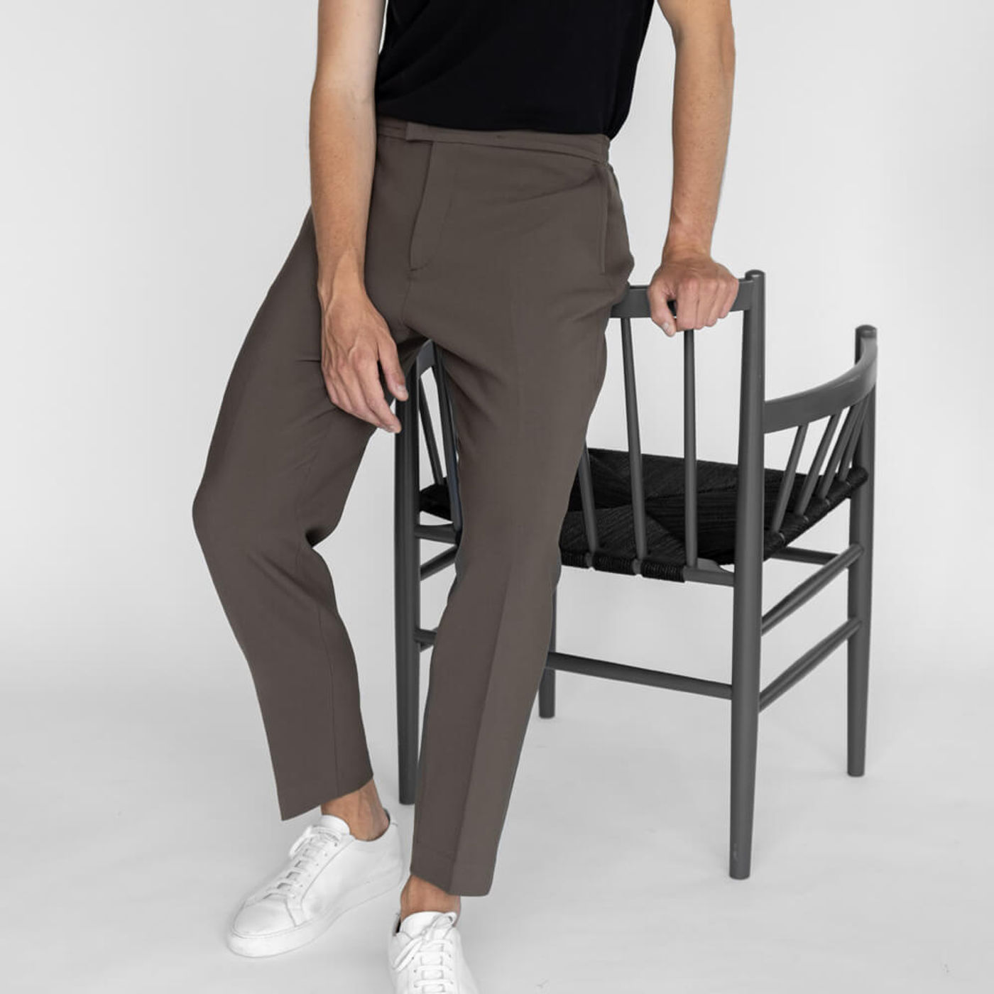 Taupe/Taupe Easy Tailored Trouser - Pack of 2 | Bombinate
