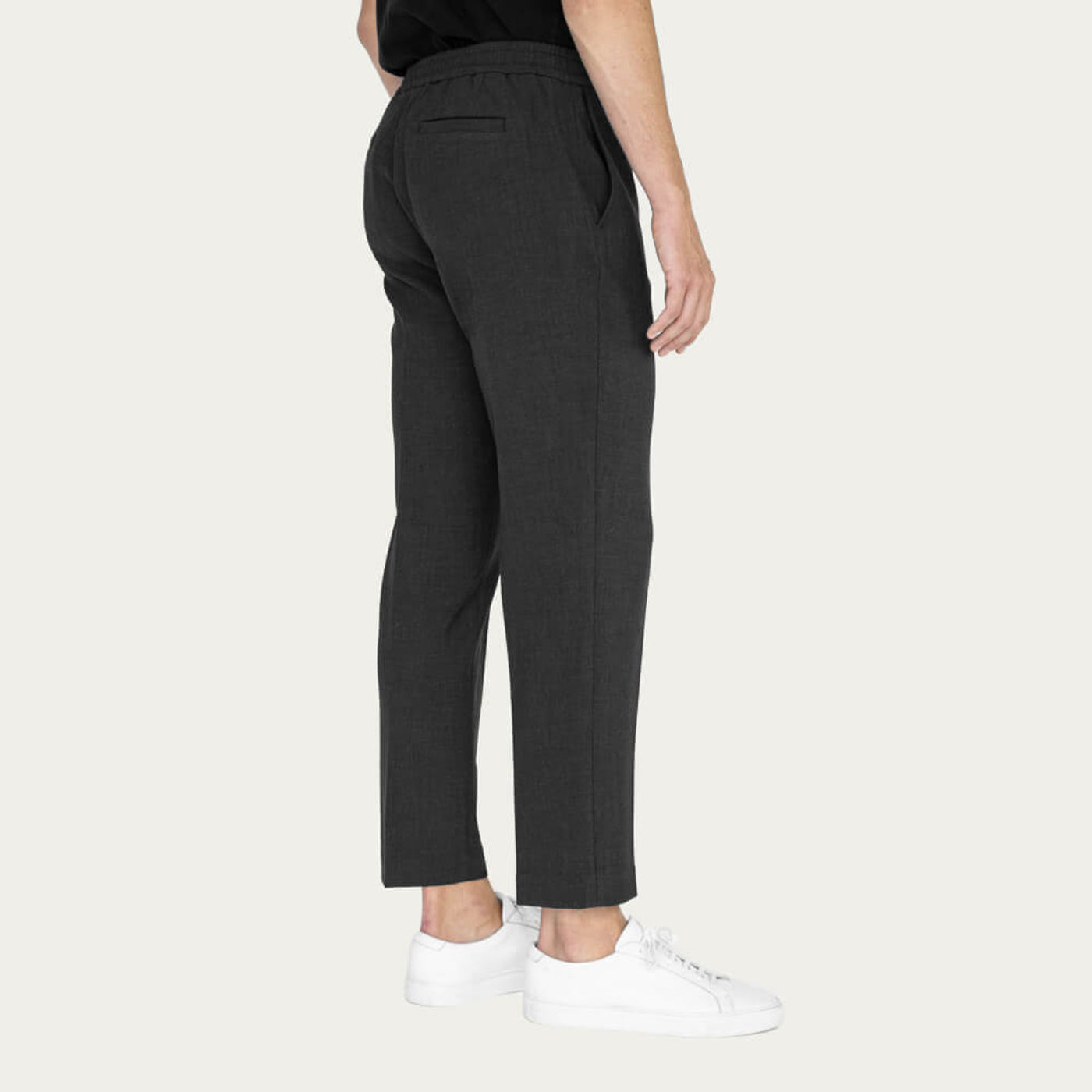Charcoal Easy Tailored Trouser | Bombinate